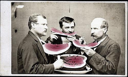 Waremeloenen en mannen