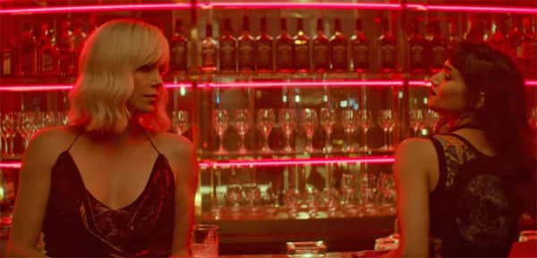 Atomic Blonde Theron en Sophia