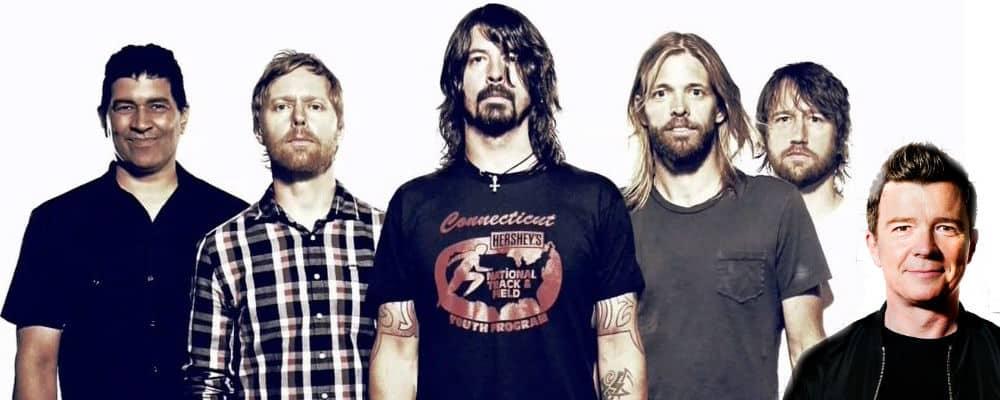 Foo Fighters vs Rick Astley