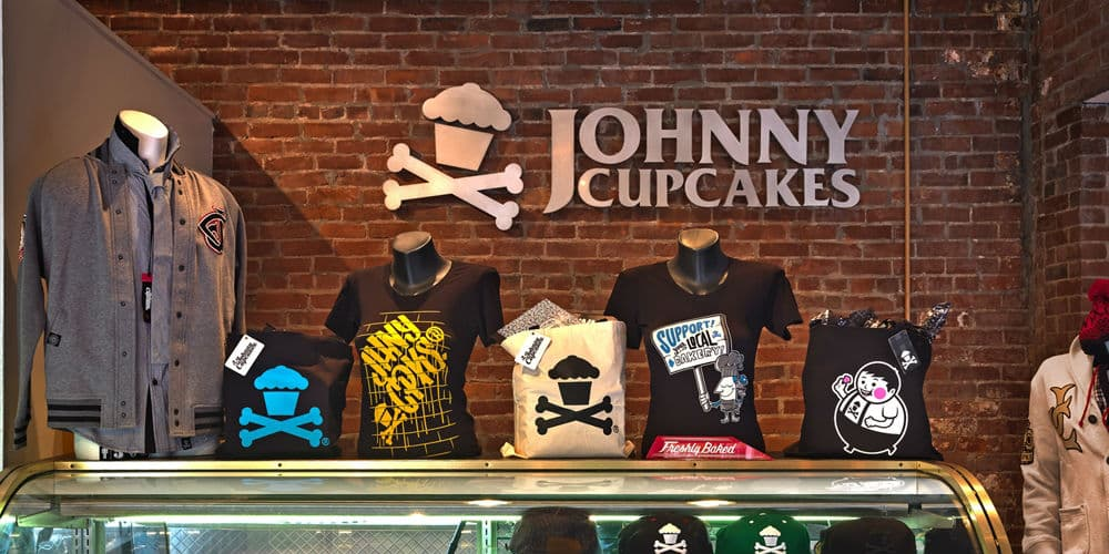 Johnny Cupcakes banner