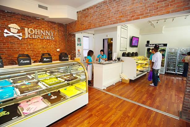 Johnny Cupcakes winkel