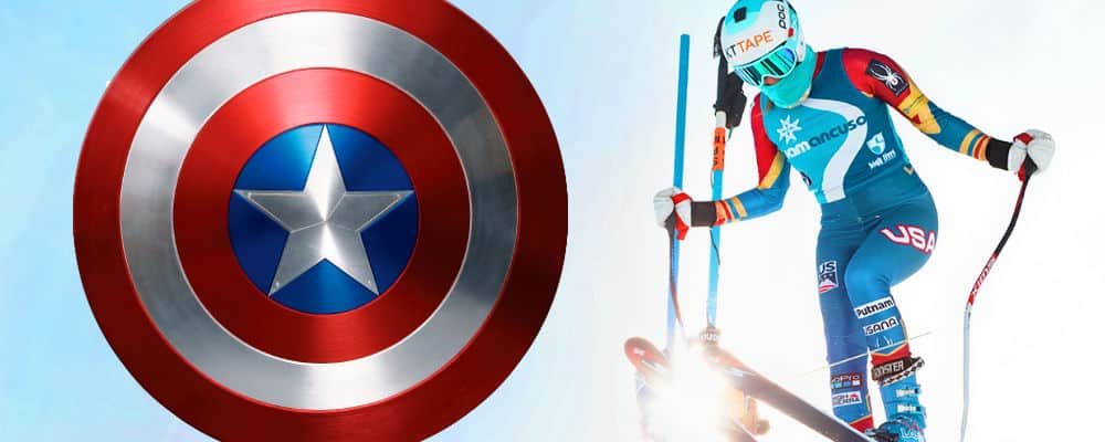 Captain America Olympische Spelen