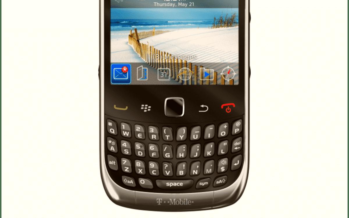 BlackBerry banner