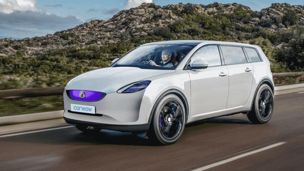 render elektrische auto