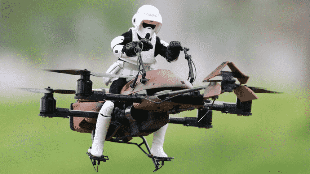Drone down
