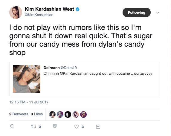 Kim Kardashian coke