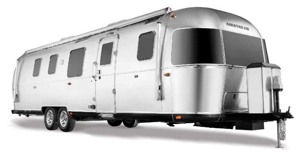 Klassieke Airstreamer caravan