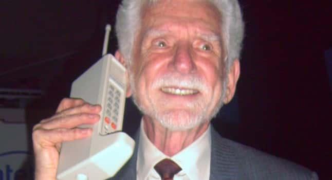 Martin Cooper eerste mobiele telefoon