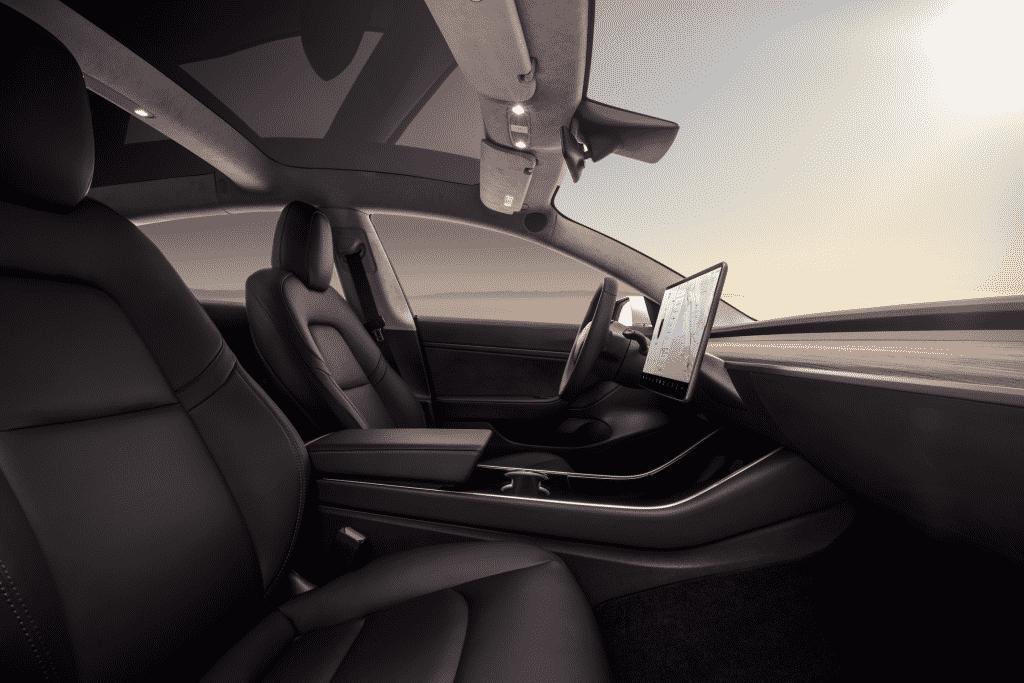 Tesla Model 3 binnenzijde