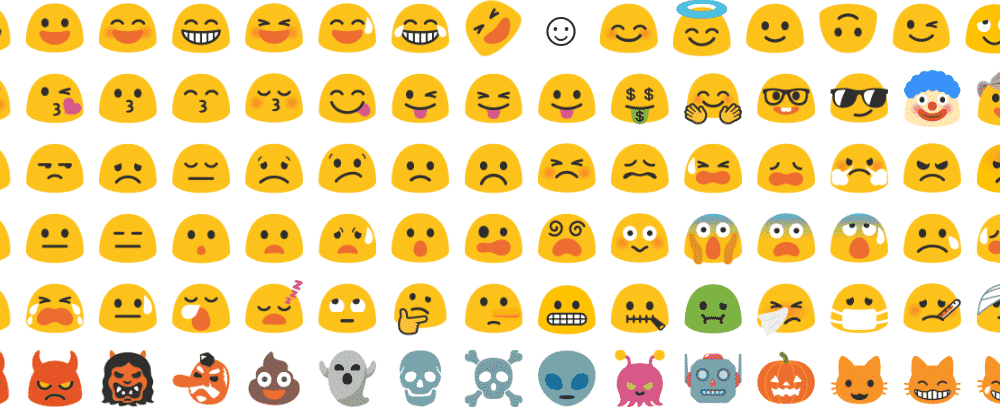 alle emoticons