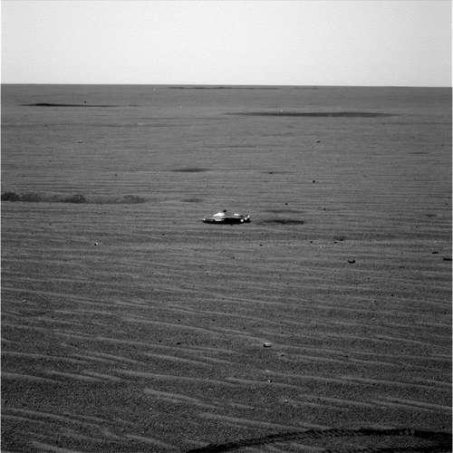 metalen object mars