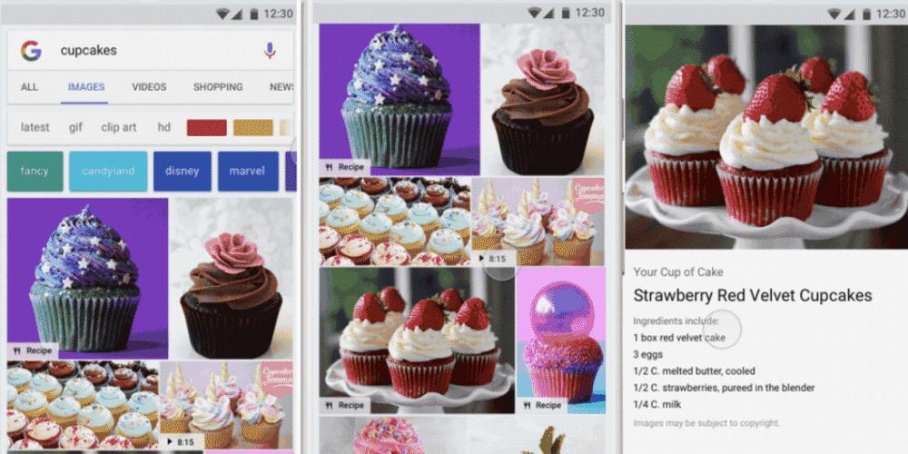 Google Badges makkelijk zoeken naar afbeeldingen