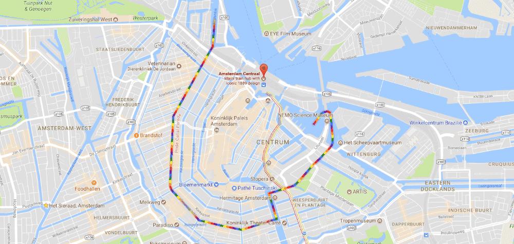 Pride Google maps