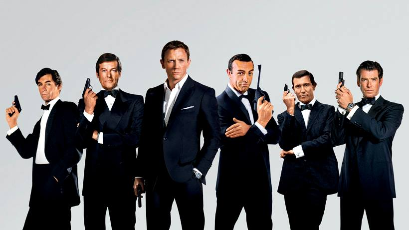 alle james Bonds