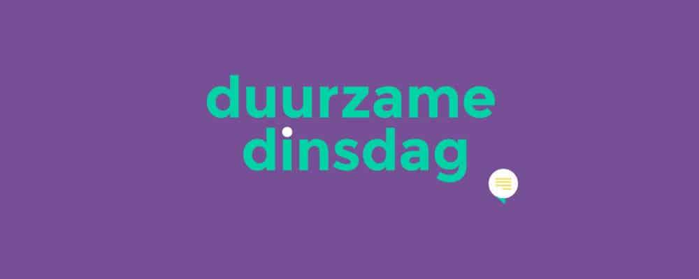 Duurzame dinsdag banner