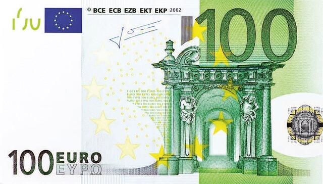 Euro Biljet