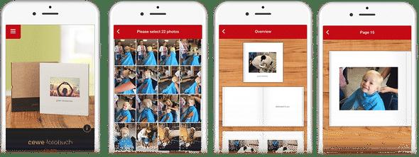 app CeWe fotoboek