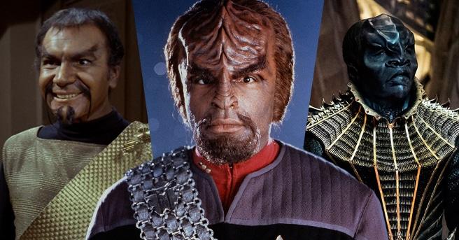 Klingons uit drie series