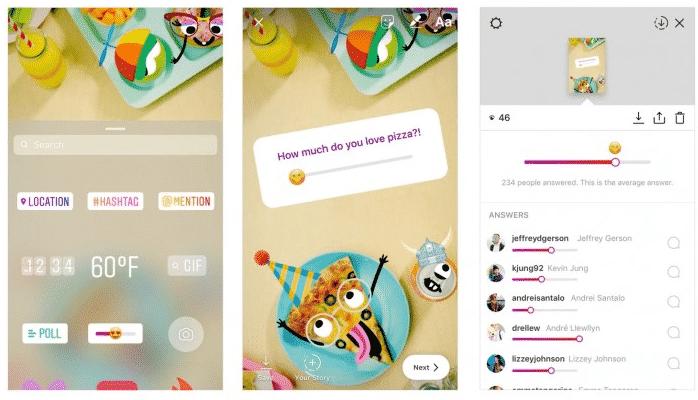 Instagram Emojie Slider