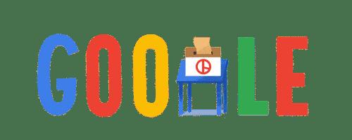 Google Doodle Korea verkiezingen 2017