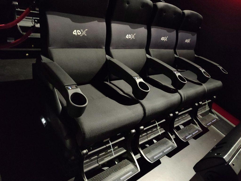 stoelen 4DX
