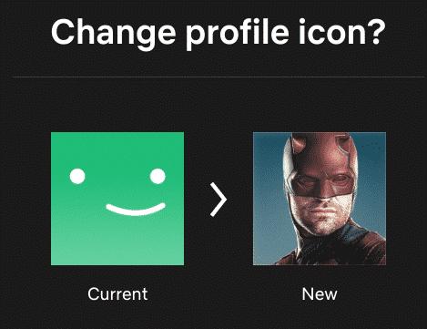 Netflix zelf icoon uitkiezen