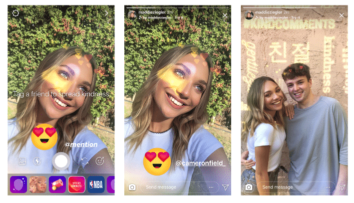 Liefde op Instagram