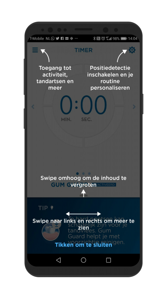 Oral-B app voor Android