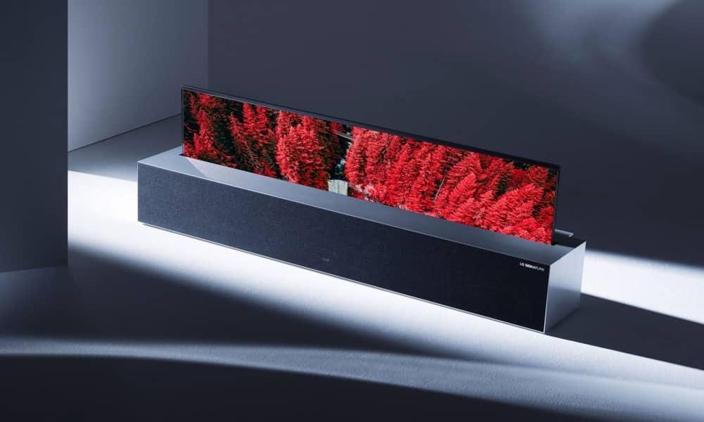 LG oprolbare OLED tv