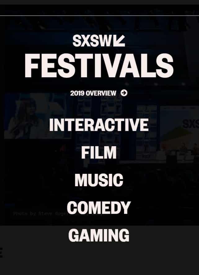 Line up va SXSW