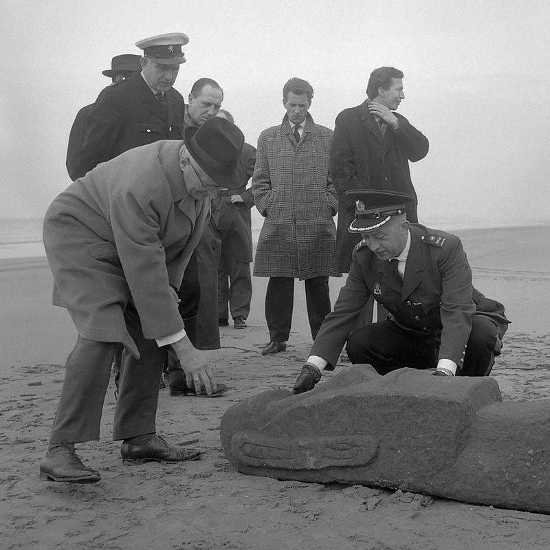 1 april paaseiland beeld Zandvoort