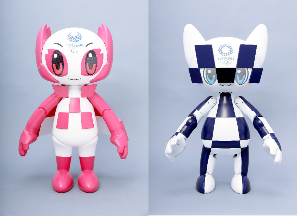 Robots Toyot Tokio 2020