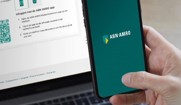 ABN AMRO-app inloggen QR-code