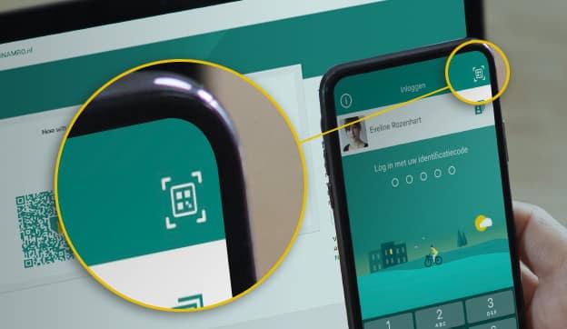 ABN AMRO-app QR-code