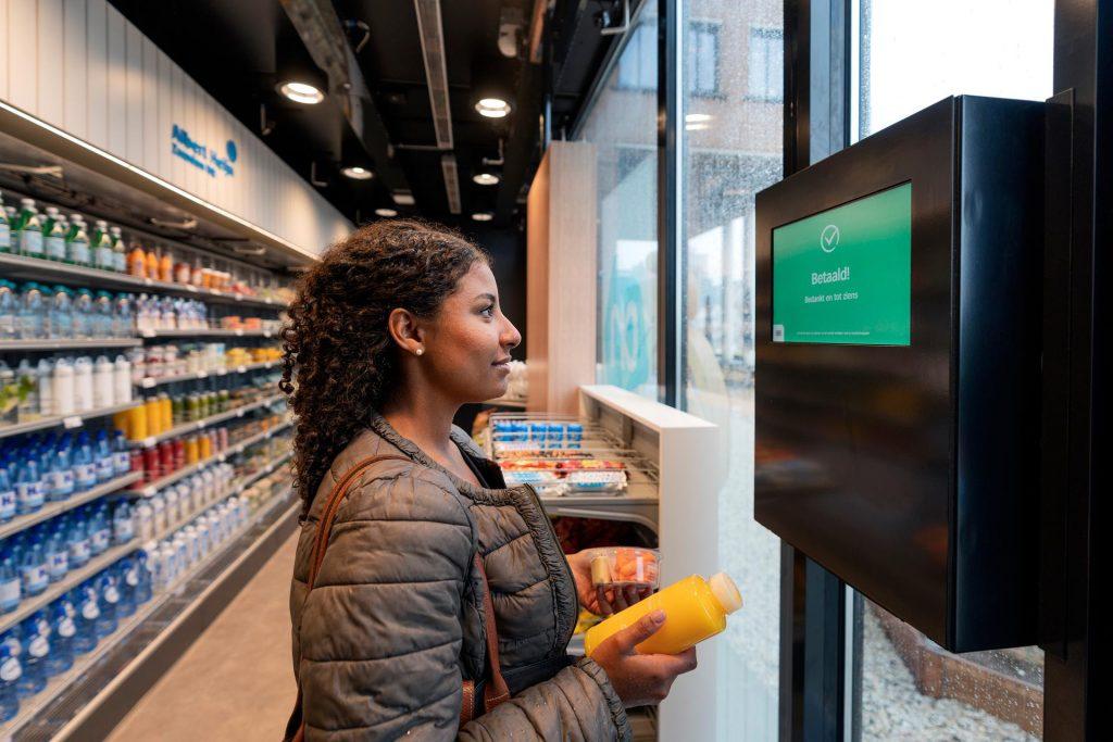 AH digitale winkel afrekenen