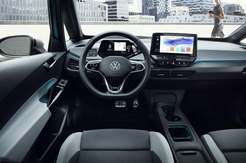 Volkswagen ID.3 binnenzijde
